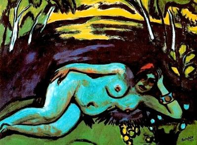 """Max Pechstein, """"Mattino presto"""" (1911)"""