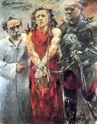 """Lovis Corinth, """"Ecce Homo"""" (1925)"""