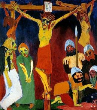 """Emile Nolde, """"Crocifissione"""" (1911-'12)"""