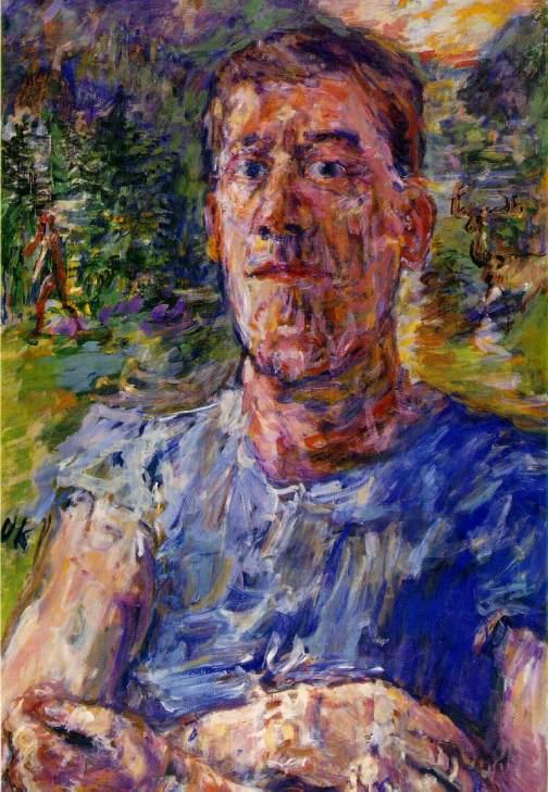 "Oskar Kokoschka, ""Autoritratto di un artista degenerato"""