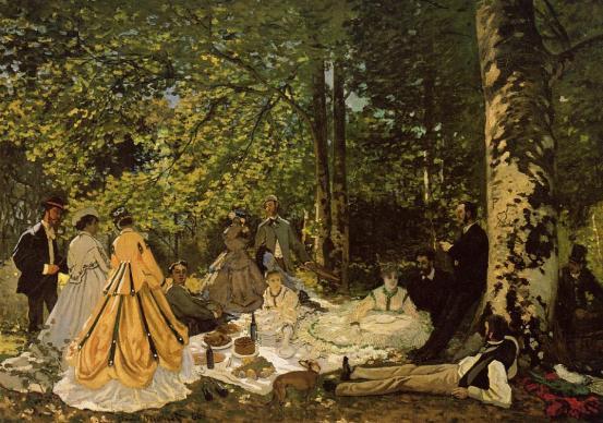 """""""Colazione sull'erba"""" (1865-'66)"""