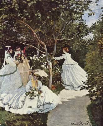 """""""Donne in giardino"""" (1866-'67)"""