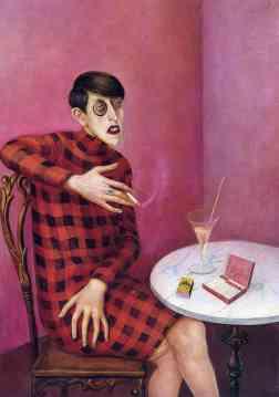 """Otto Dix, """"Ritratto di Sylvia Von Harden"""" (1926)"""