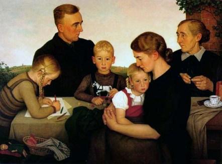 "Adolf Wissel, ""Famiglia contadina di Kahlenberg"" (1939)"